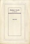 Abraham Lincoln :a Tribute, 1809-1909