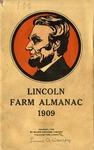 Lincoln Farm Almanac, 1909.