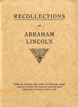 Recollections of Abraham Lincoln.