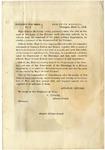 President's war order, no. 3 : Executive Mansion, Washington, March 11, 1862 / [Signed] Abraham Lincoln.