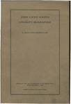 John Locke Scripps : Lincoln's biographer