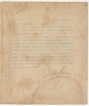 Letter to To Whom it may Concern, November 18, 1893