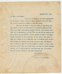 Letter to To Whom it may Concern, November 28, 1893