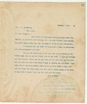 Letter to Mr. W A Broughton, October 12, 1893