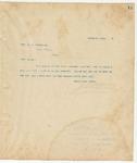 Letter to Mrs. M. J Fredbrick, December 14, 1893