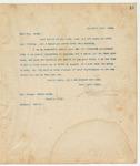 Letter to Mrs. Georgie Davis McCoy, December 15, 1893