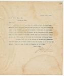 Letter to W. A. Brown, Esq., Sec, January 15, 1894