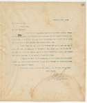 Letter to W.W. Harvey, Esq., December 18, 1894