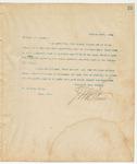 Letter to Mr. William Davis, January 18, 1894