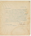 Letter to Miss. Helen M. Quinche, January 20, 1894
