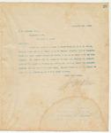 Letter to C. M Johnson, Esq., February 4, 1894