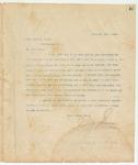 Letter to Hon. John M. Allen, February 24, 1894