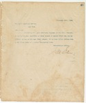 Letter to The North American Review, February 26, 1894