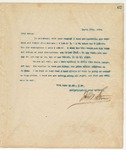 Letter to Becca, March 17, 1894
