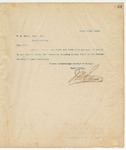 Letter to W. A. Brown, Esq., Sec, March 19, 1894
