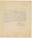 Letter to To Whom it may Concern, April 2, 1894