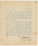 Letter to To Whom it may Concern, April 7, 1894
