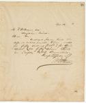 Letter to W. A. Brown, Esq., Sec, April 16, 1894