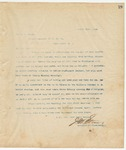Letter to Mr. W. H. Green, Apirl 21, 1894