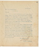 Letter to Mess. R.H. Woodward Company, May 7, 1894