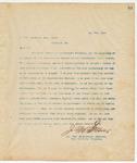 Letter to C.O'B. Cowardin, Esq., Prest., May 7, 1894
