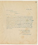 Letter to Mr. Leonard Moody, May 8, 1894