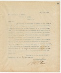 Letter to W.J. Northen, May 10, 1894