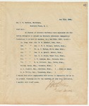 Letter to Mr. J. T. Patrick, May 11, 1894