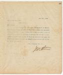 Letter to Cap. C. J. Hyatt, Pres., May 12, 1894