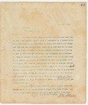 Letter to Hon. T. C. Catchings, May 31, 1894