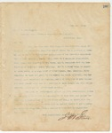 Letter to Mr. W.M Worthington, May 1, 1894