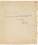 Letter to Capt. C.J. Hyatt, June 15, 1894