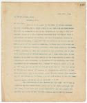 Letter to Dr. Robert Frazer, Pres., June 15, 1894