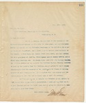 Letter to Hon. Wm. H. Sims, June 26, 1894