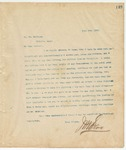 Letter to Dr. Wm. McSwine, June 9, 1894