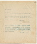 Letter to Hon. H. M. Street, July 16, 1894