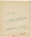Letter to Mess. J.T. Peterson & G. W. Bingham, August 5, 1894