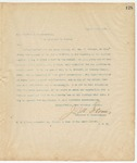 Letter to Hon. Clifton R. Breckenridge, August 15, 1894