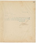 Letter to W. A. Brown, Esq., Sec, August 21, 1894