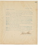 Letter to To Whom it may Concern, August 22, 1894