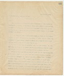 Letter to Honorable Secretary of War, August 28, 1894