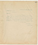 Letter to Chicago Scale Company, August 29, 1894