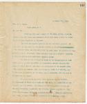 Letter to Hon. W.C. Oates, September 9, 1894