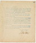 Letter to Hon. W.C. Oates, September 12, 1894