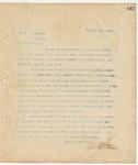 Letter to Hon. T. C. Catchings, September 12, 1894