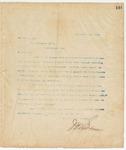 Letter to Gov. Thomas Jones (AL), September 22, 1894