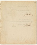 Letter to Bank of Iuka, October 29, 1894