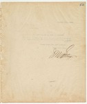 Letter to Cap. C. J. Hyatt, Pres., October 29, 1894