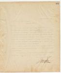 Letter to B.W Griffith Esq., Secretary, November 17, 1894