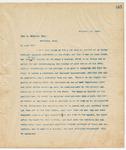 Letter to John D. McInnis, Esq., November 25, 1894